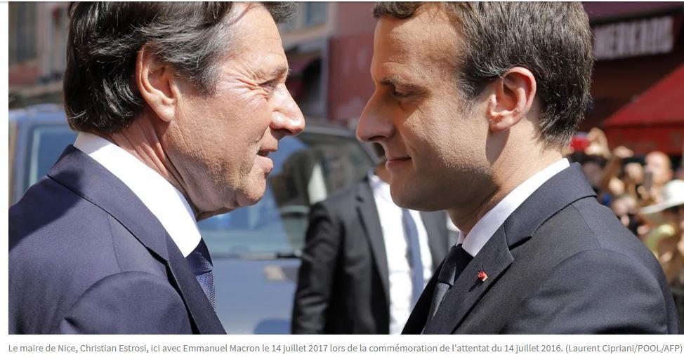 Estrosi lèche grossièrement Macron : si après cela il n'est pas ministre…