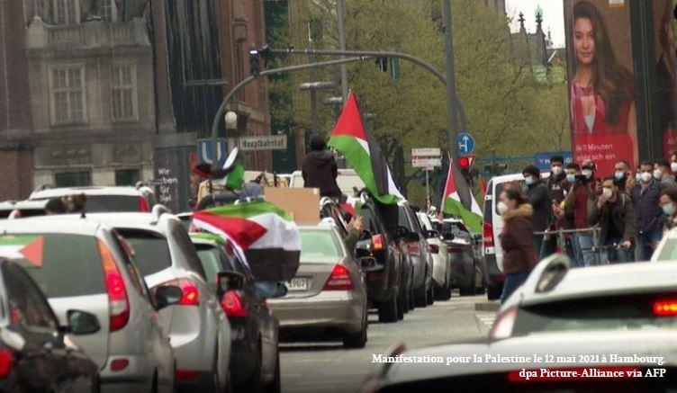 À Hambourg, les islamistes manifestent à la manière du Hamas