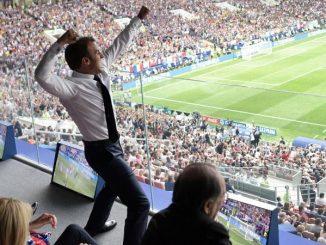 Coupe du monde 2018 : Emmanuel Macron exulte, les ...