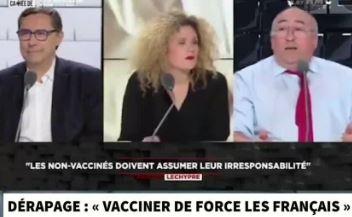 Lechypre le graisseux de RMC veut envoyer les flics aux non-vaccinés
