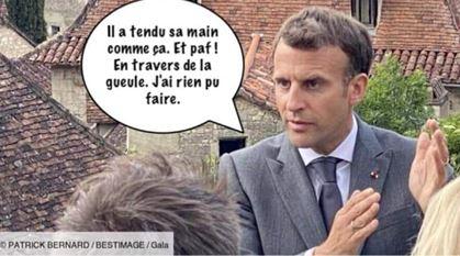 Macron a goûté à la tarte à Tain…