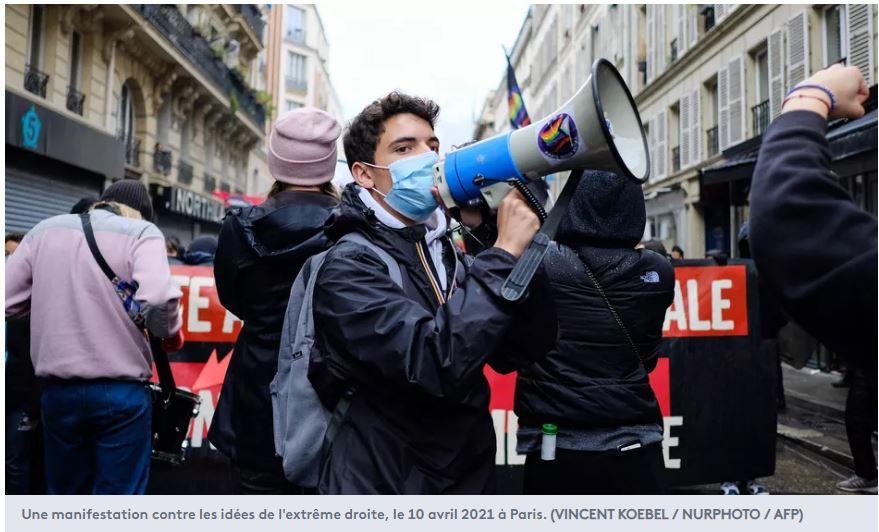 Gauchistes et macronistes main dans la main contre les Français de France