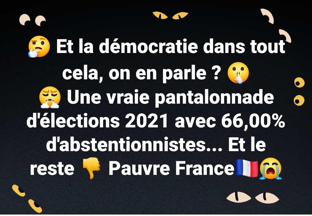 Démocratie outragée, Démocratie brisée, Démocratie martyrisée…