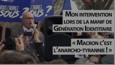 Il faut en finir avec l'anarcho-tyrannie du régime de Macron
