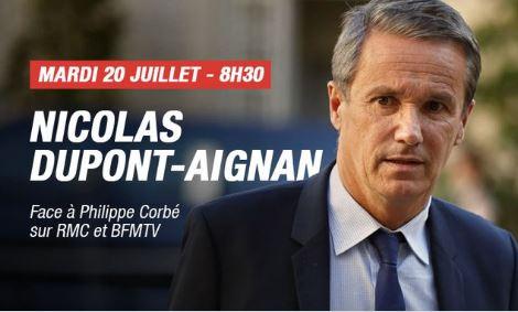Philippe Corbé, nouveau comique de BFM TV-RMC