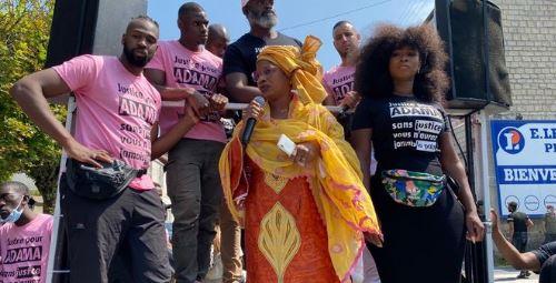 Le cinoche du gang Traoré, soutenu par les gauchos, continue