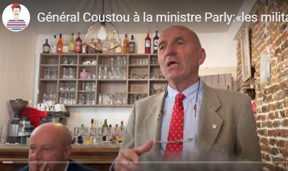 L'excellent général Coustou ridiculise Florence Parly