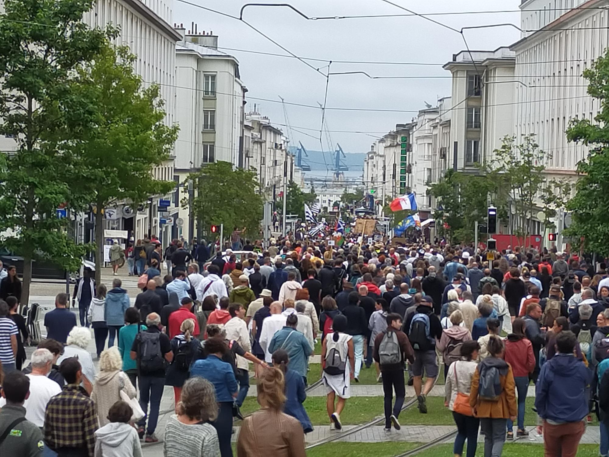 Après-midi de résistance à Brest : le combat doit continuer !