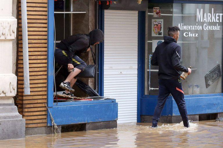Inondations en Belgique : toujours les mêmes pillards…