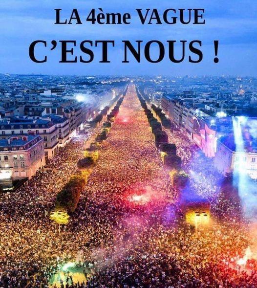 France Info a osé annoncer 1500 personnes au Trocadéro !
