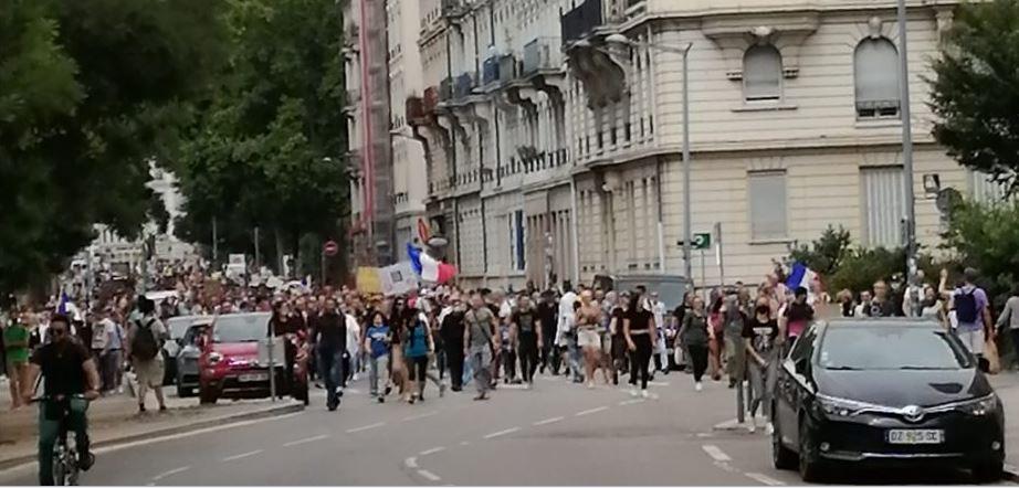 A Lyon, on était plus nombreux que la semaine dernière