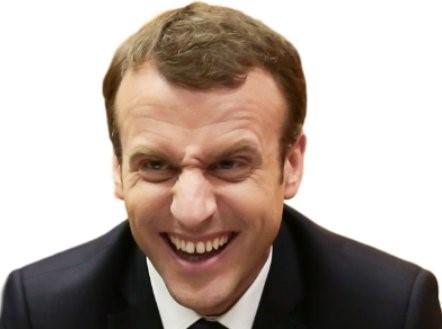 Attention ! Macron arrive, plus faux-jeton et dangereux que jamais !