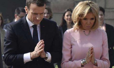 À Lourdes, Macron a prié pour deux miracles : le vaccin et le Yéti