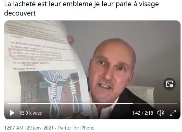Herr Doktor Marty et Karine Lacombe convoquent la presse…