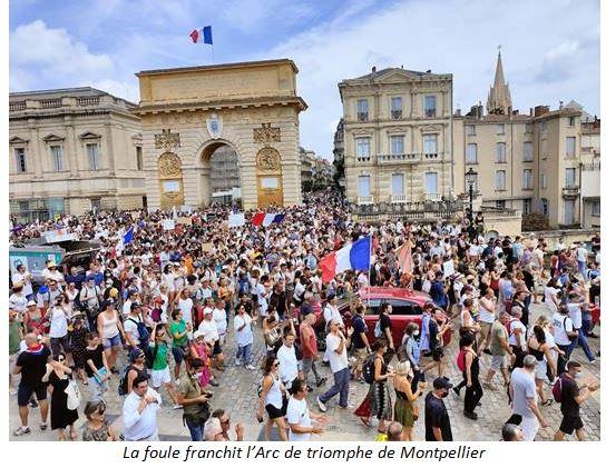 Montpellier : les diviseurs marxistes chassés du cortège !