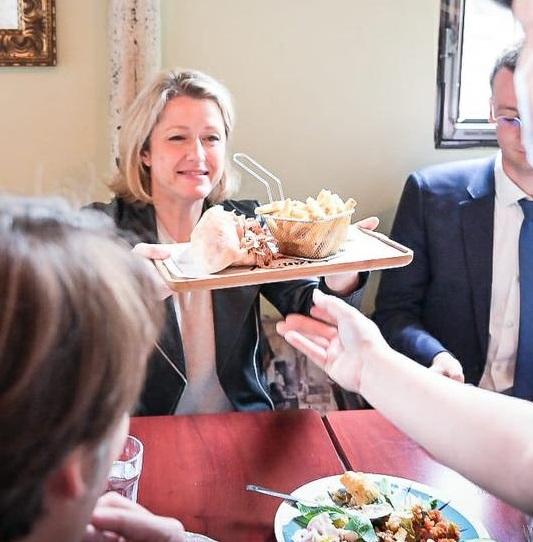 Pour Pompili, la gastronomie française, c'est le kebab dans du carton !