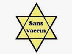 """Porter dans la rue une étoile jaune """"non vacciné"""" est-il dégueulasse ?"""