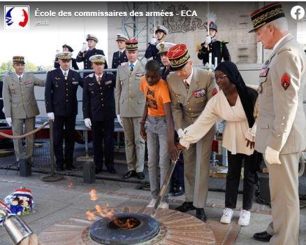 Honte aux généraux soumis qui ont laissé une voilée humilier la France