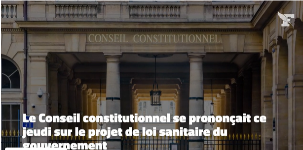 L'irrecevabilité de la décision du conseil constitutionnel du 5 août 2021