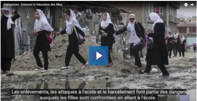 """""""Afghanistan, le pire pays pour naître, pour une fille"""""""