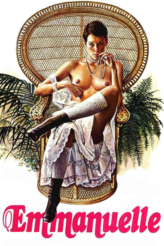 La covidiste Emma Ducros imite Emmanuelle dans un fauteuil