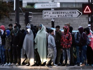 A Paris, de plus en plus de migrants afghans arrivent depuis l