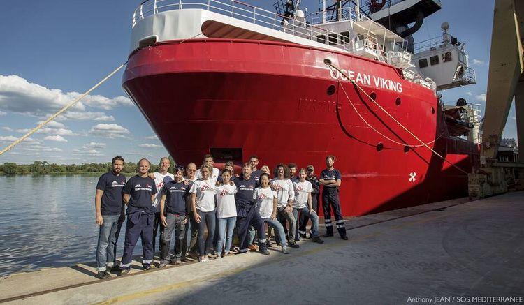 On s'en fout des 550 réfugiés de l'Ocean Viking!