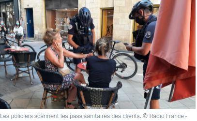La délinquance augmente, mais la police contrôle les passes sanitaires