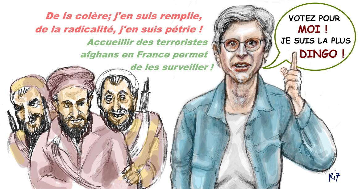 Piratons la primaire des dingos : tous derrière Sandrine Rousseau !