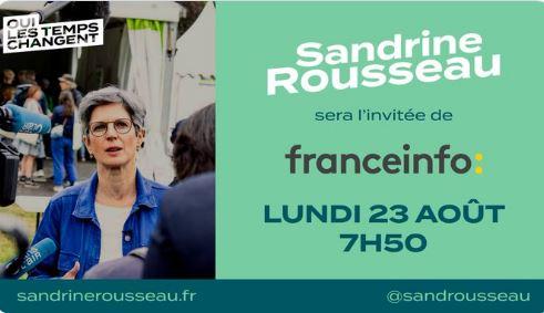 La plus tarée des écolos-dingos, c'est Sandrine Rousseau !