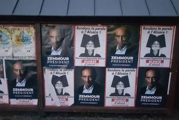 Fête annuelle d'Alsace d'abord : beaucoup de fans de Zemmour