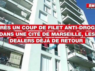 Quelques jours après un vaste coup de filet anti-drogue à Marseille, les dealers déjà de retour - YouTube