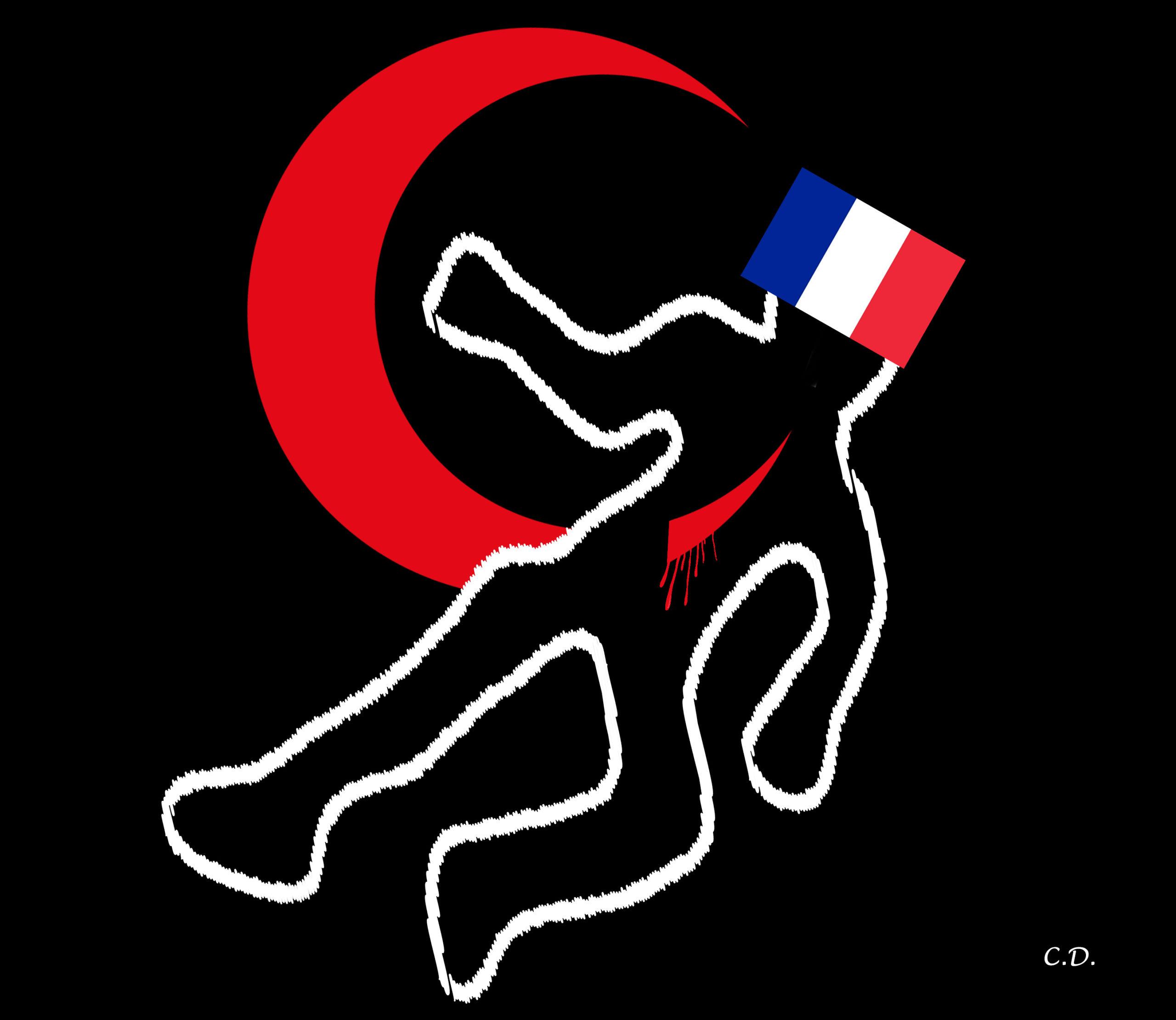 Combs-la-Ville, c'est l'image de la France islamisée