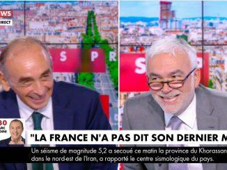 Pascal Praud tout seul face à Eric Zemmour pour sa dernière sur CNews : et si c