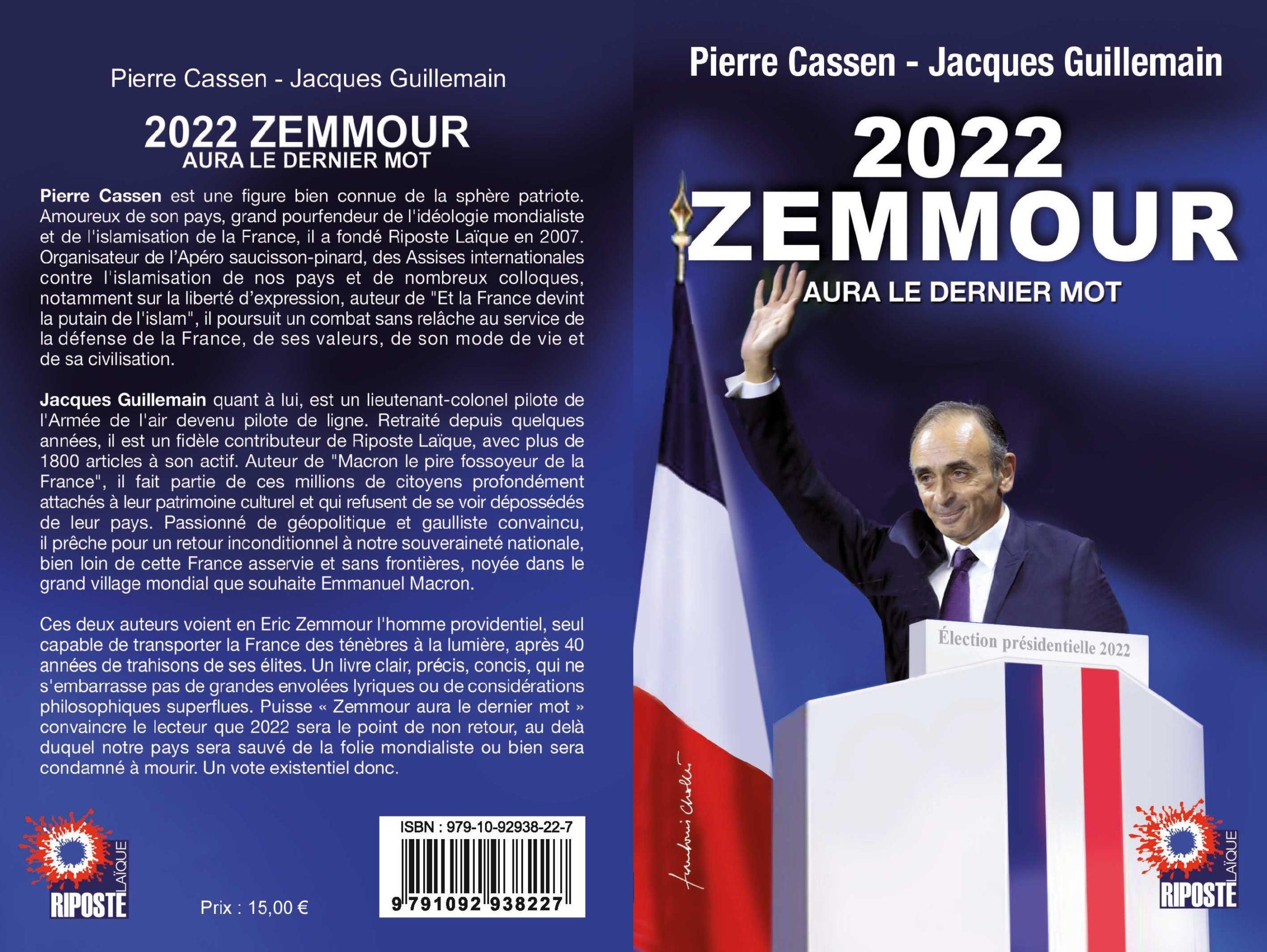 Offrez notre livre à ceux qui doutent de la nécessaire victoire de Z