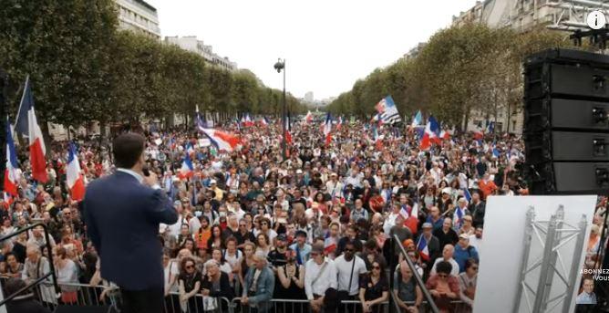 Philippot : hymne à la liberté et à la vie, contre la dictature sanitaire